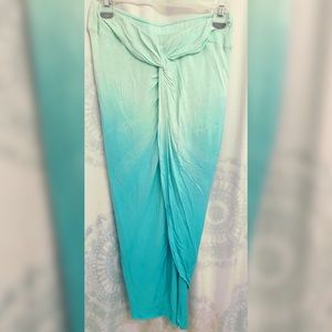 Green Kulani Skirt.